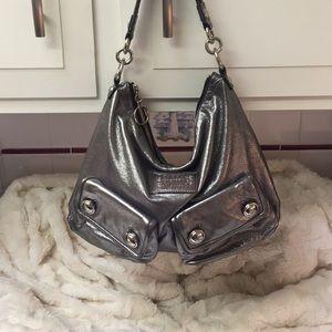 Gorgeous Silver Coach Bag